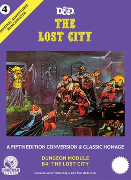 Original Adventures Reincarnated #4: The Lost City (HC)