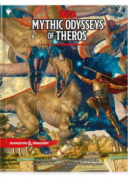 D&D Mythic Odysseys of Theros (Standard Cover)