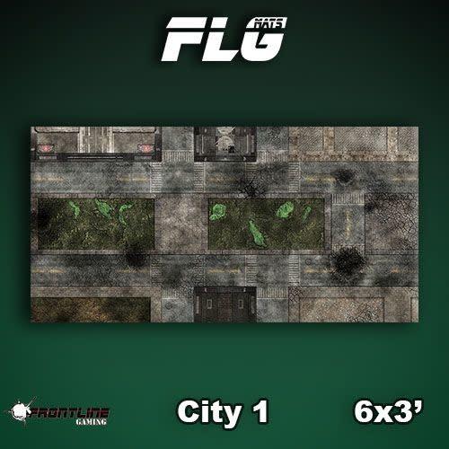 FLG Mats: City 1 6x3
