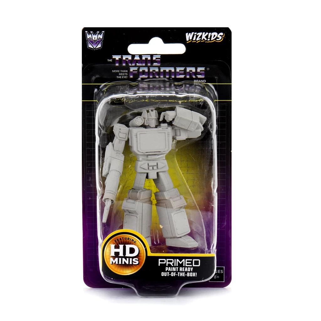 Transformers Unpainted Minis: Soundwave