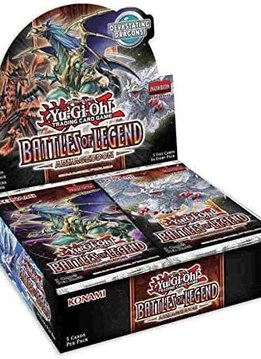 YGO Battles of Legend: Armageddon - Booster Box