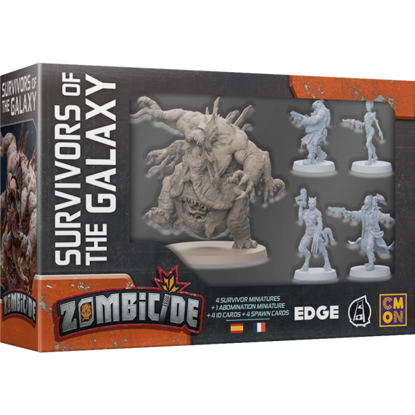 Zombicide Invader: Survivors of the Galaxy (FR)