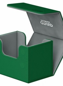 Deck Box: Sidewinder Xenoskin 80+ Green