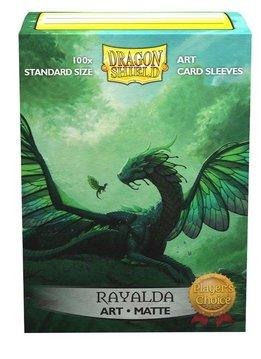 Rayalda - Dragon Shield Matte Art Sleeves 100ct