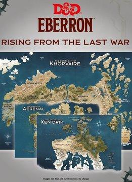 D&D Map Set: Eberron - Nations for Khorvaire