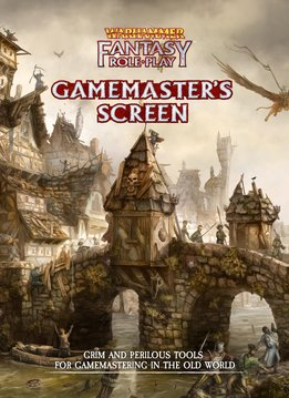 Warhammer Fantasy RPG Gamemaster's Screen