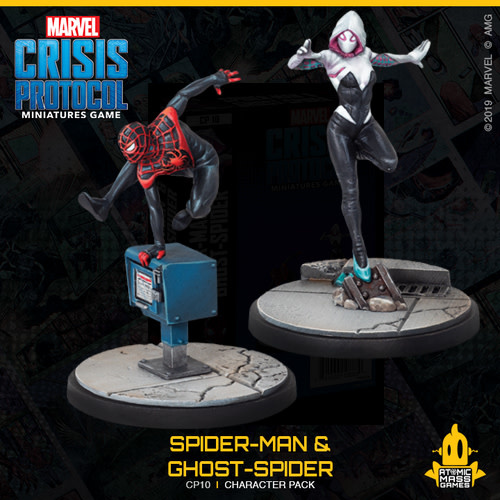 Marvel CP: Ghost-Spider & Spider-man Character Pack