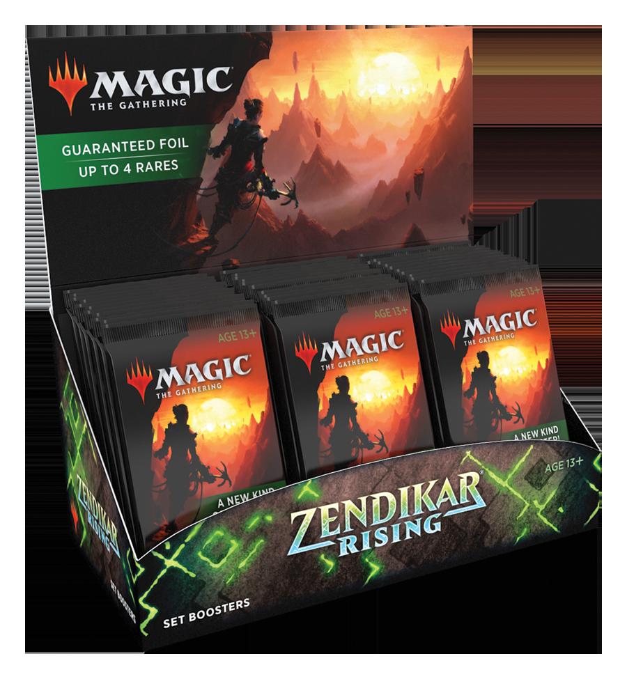 Zendikar Rising - Set Booster Box (25 sept)