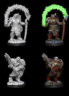 Orc Adventurers - D&D Unpainted Minis (WV12)