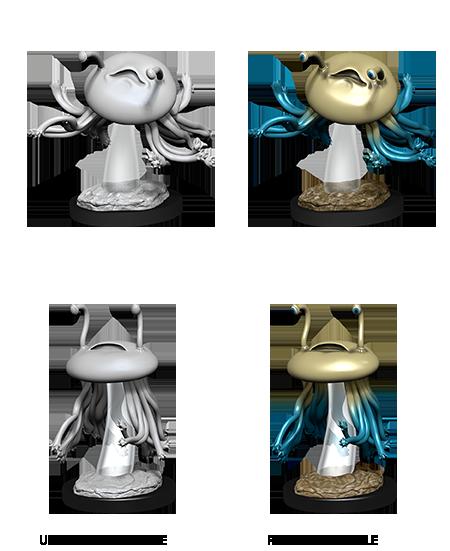 Flumph - D&D Unpainted Minis (WV12)