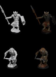 Gnoll & Gnoll Flesh Gnawer - D&D Unpainted Minis (WV12)