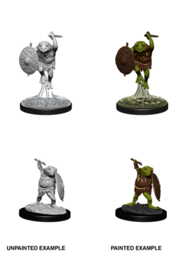 Bullywug - D&D Unpainted Minis (WV12)