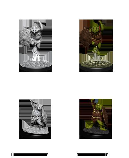 Bullywug - D&D Unpainted Minis (WV12)