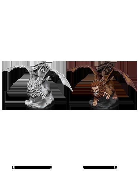 Manticore - D&D Unpainted Minis (WV12)