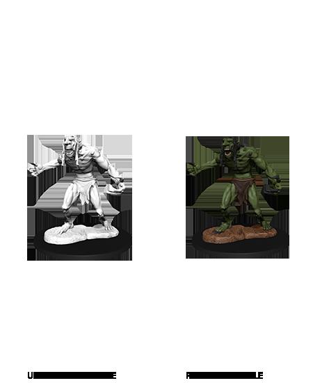 Raging Troll - D&D Unpainted Minis (WV12)
