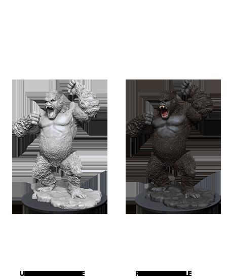 Giant Ape - D&D Unpainted Minis (WV12)