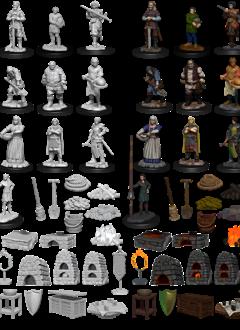 Towns People: Castle II - WizKids Deepcuts (WV12)