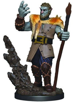 Male Firbolg Druid - D&D Icons of the Realm Premium Painted Figure