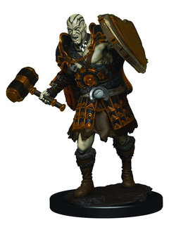 Male Goliath Fighter - D&D Icons of the Realm Premium Painted Figure