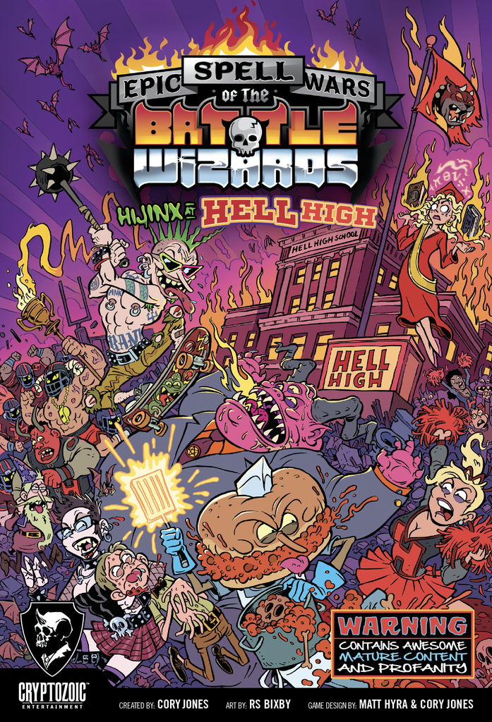 Epic Spell Wars 6 - Hijinx at Hell High