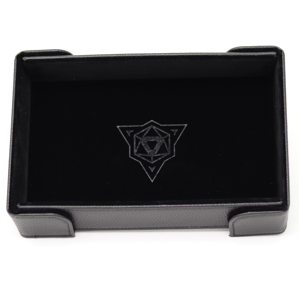 Die Hard  Magnetic Rectangle Dice Tray Black