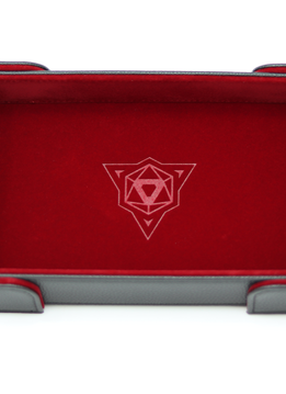 Die Hard  Magnetic Rectangle Dice Tray Red