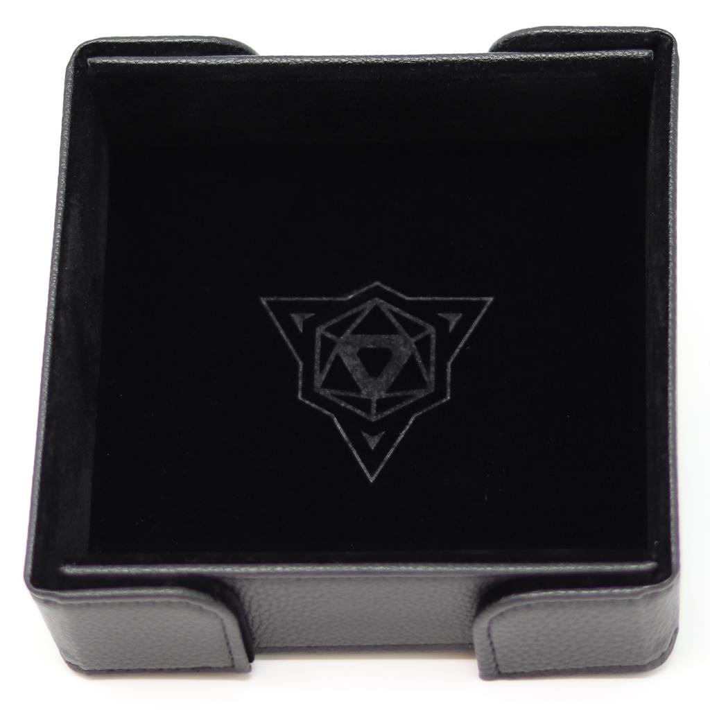 Die Hard  Magnetic Square Dice Tray Black