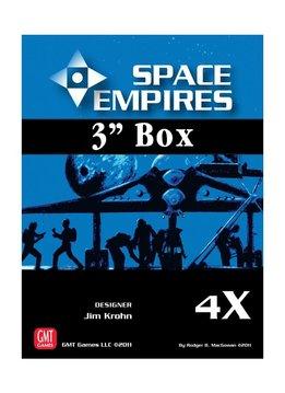 """Space Empires 4X - 3"""" Box (Empty)"""