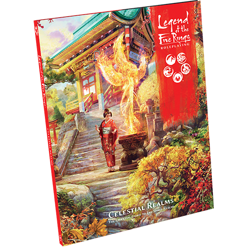 Legend of the Five Rings RPG: Celestial Realms (HC)