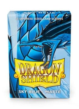 Dragon Shield Matte Japanese Sized Sleeves Sky Blue