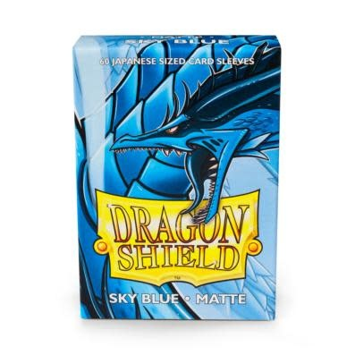 Dragon Shield Matte Japanese Sized Sleeves Sky Blue