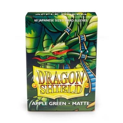 Dragon Shield Matte Japanese Sized Sleeves Apple Green