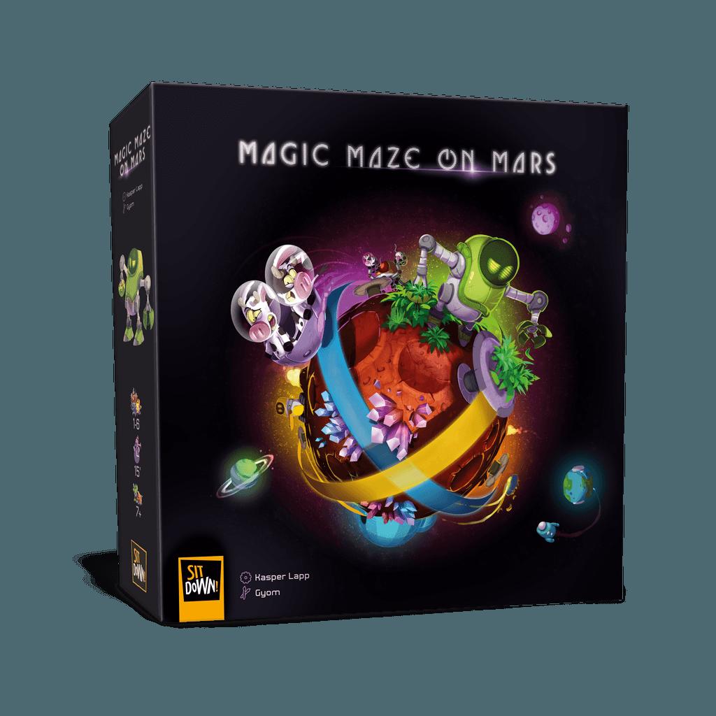 Magic Maze on Mars (ML)
