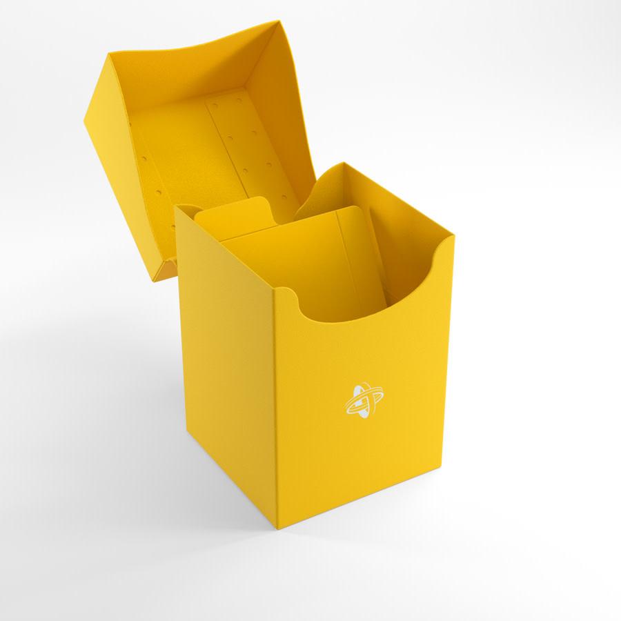 Deck Holder Deck Box 100+ Yellow