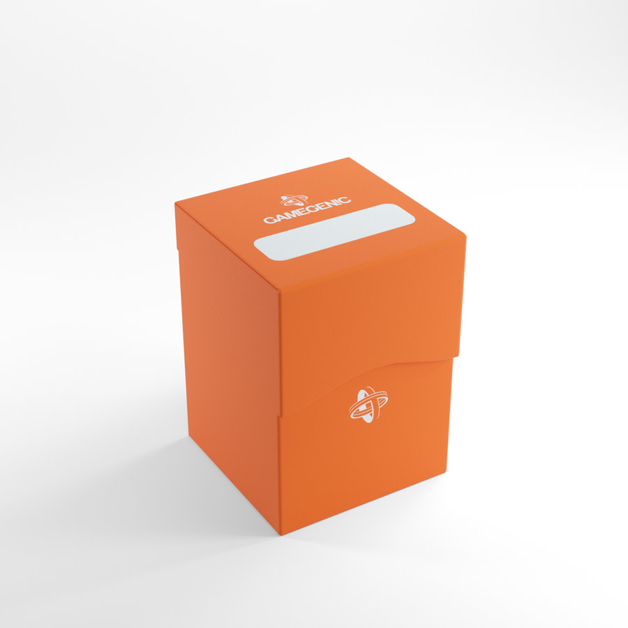 Deck Holder Deck Box 100+ Orange