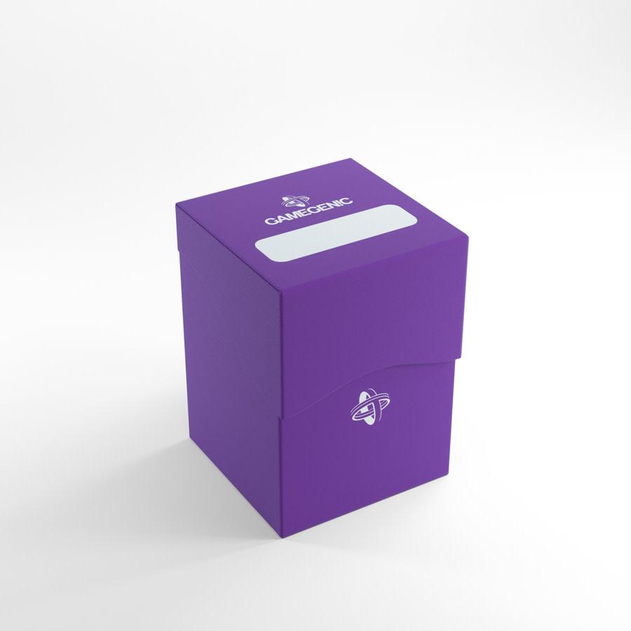 Deck Holder Deck Box 100+ Purple