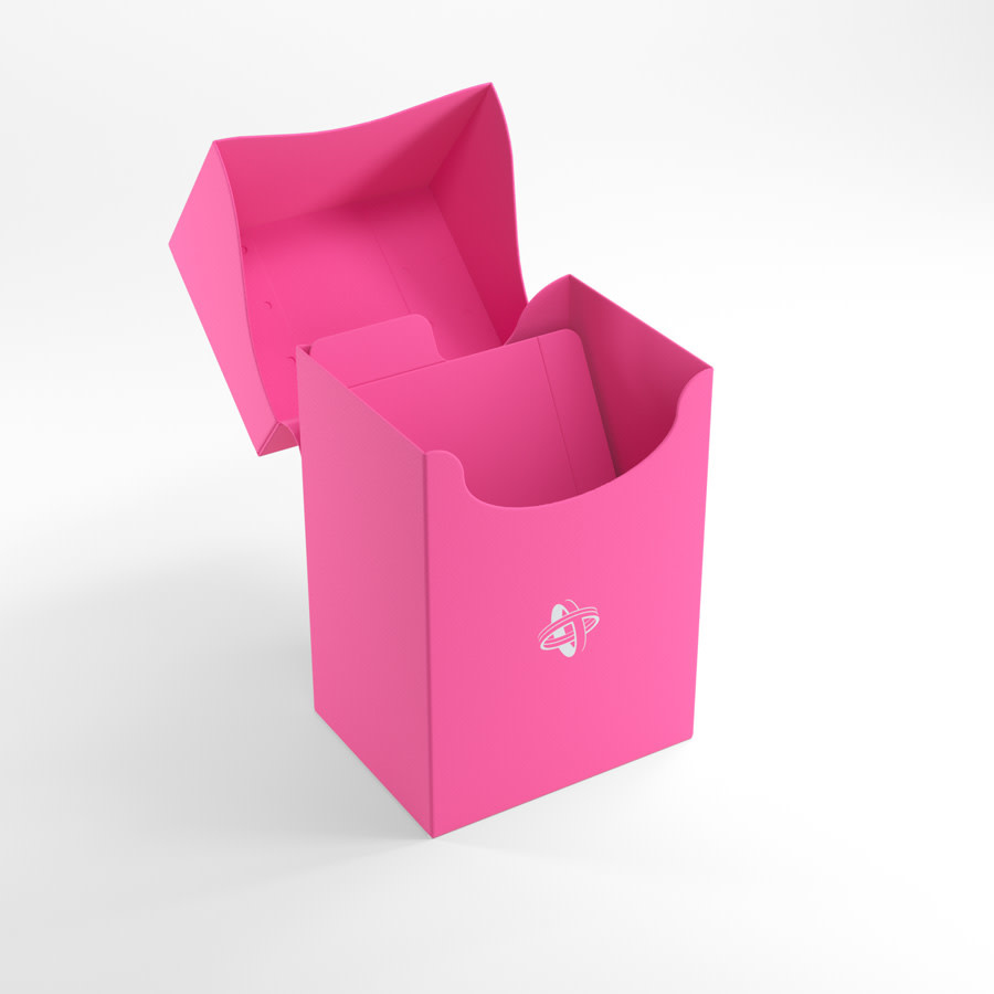 Deck Holder Deck Box 80+ Pink