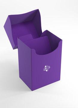 Deck Holder Deck Box 80+ Purple