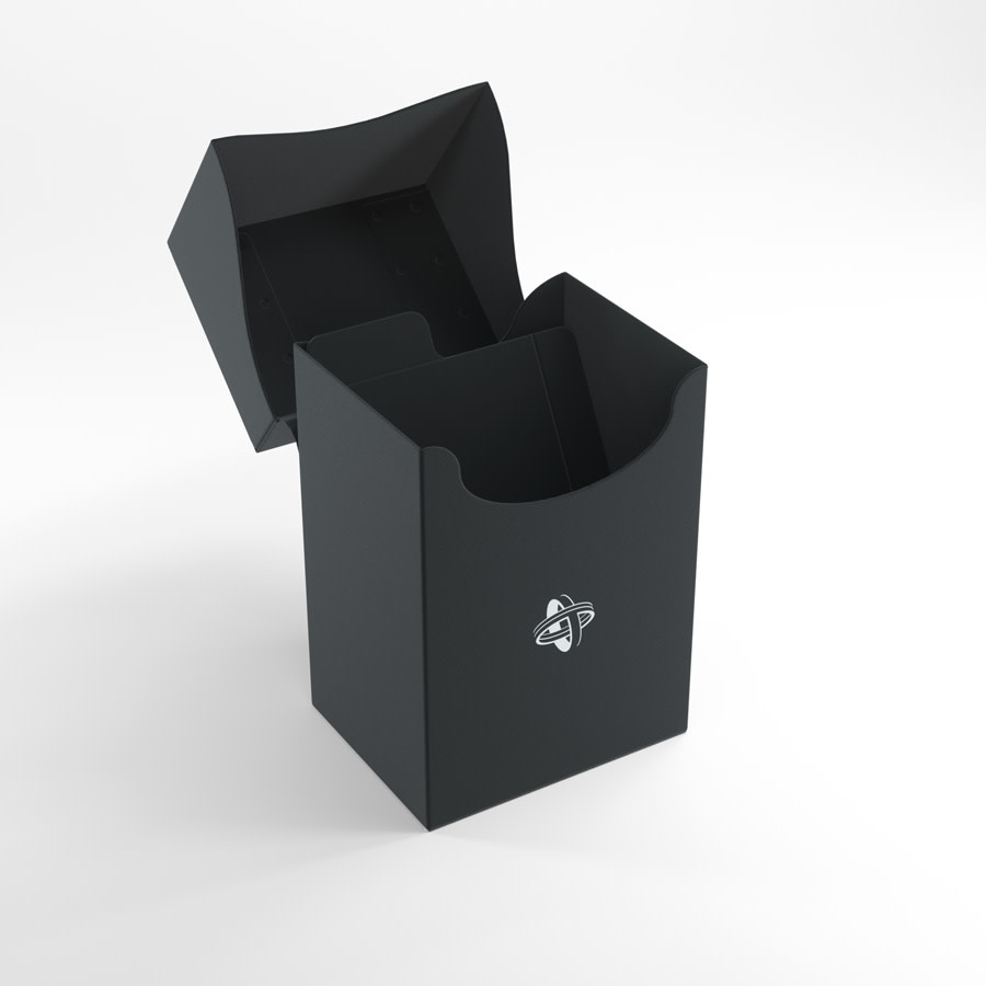 Deck Holder Deck Box 80+ Black