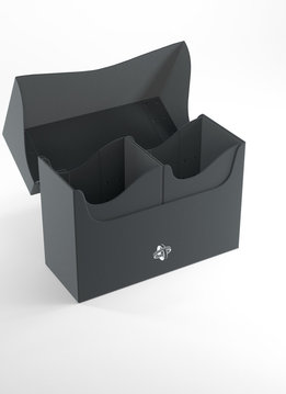 Double Deck Holder Deck Box 160+ Black