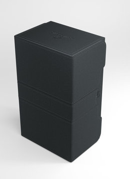 Deck Box: Stronghold Convertible Black (200ct)