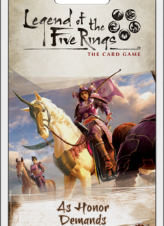 Legend of the Five Rings LCG: As Honor Demands Dynasty Pack