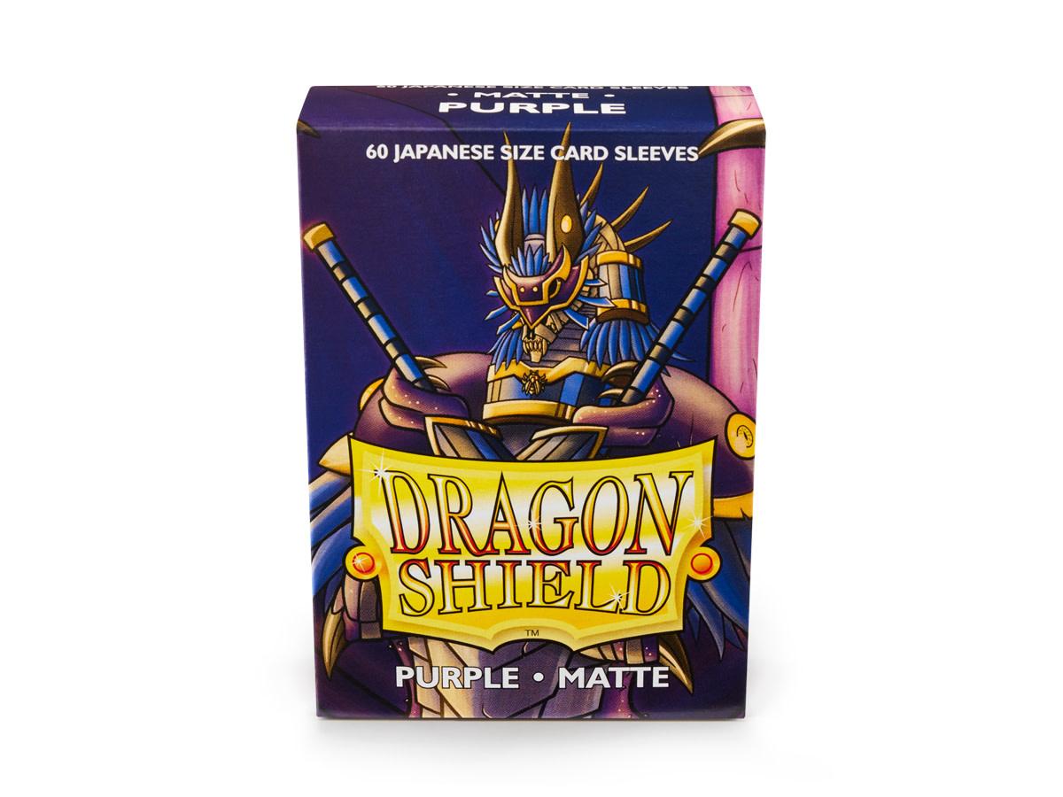 Dragon Shield Matte Japanese Sized Sleeves Purple