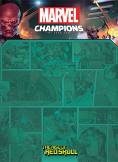 Marvel Champions The Rise of the Red Skulls 1-4 Player Game Mat