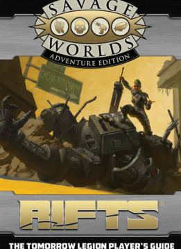 Rifts: Tomorrow Legion Player's Guide Revised