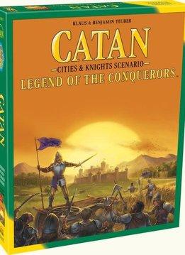 Catan: Legend of the Conquerors Exp.