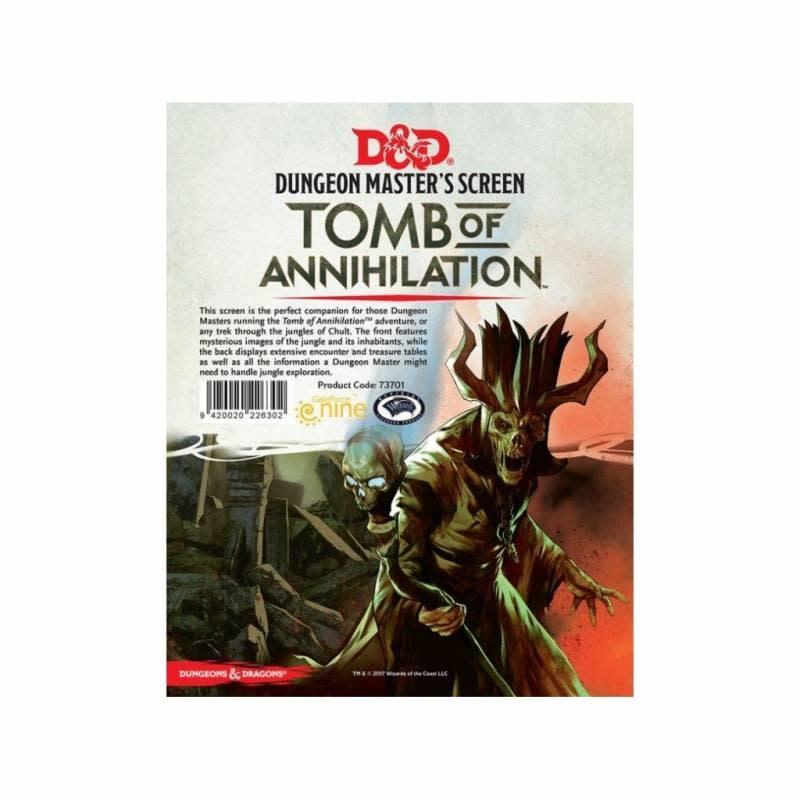 Donjons & Dragons: Ecran: Tomb of Annihilation (FR)(Précommande, de retour fin octobre)