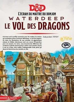 Donjons & Dragons: Ecran: Waterdeep Vol Des Dragons (FR)(Précommande, de retour novembre 2020)