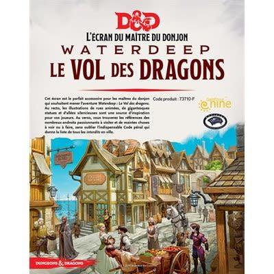 Donjons & Dragons: Ecran: Waterdeep Vol Des Dragons (FR)(Précommande, de retour fin octobre)