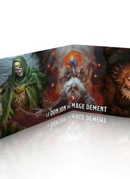 Donjons & Dragons: Ecran: Waterdeep Le Donjon Du Mage Dement (FR) (Précommande, de retour novembre 2020)
